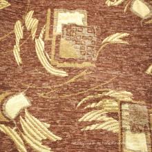 Braunes Chenille-Polsterstoff in 100% Polyester-Gewebe