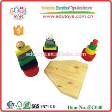 Wooden kid's Toy Rainbow Tower