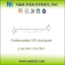 Canthaxantina 10% grado de alimentación