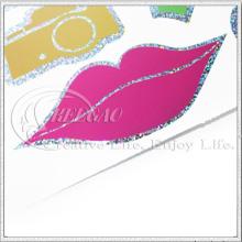 Custom Cut Metallic Sparkly Adesivos (KG-ST024)
