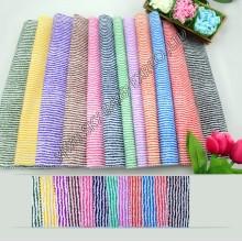 Горячая Распродажа складе 100% полиэстер печатных микрофибры в полоску Ширина ткани 150см на ткань