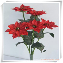 Chrystmas Flower Simulation Flowers for Promotion