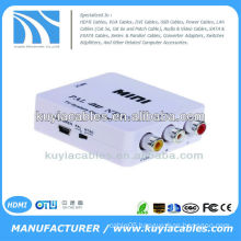 MINI TV System AV PAL To NTSC / NTSC TO PAL Converter Box