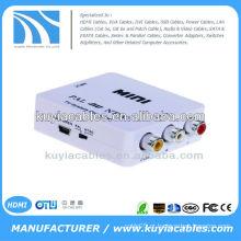 MINI Sistema de TV AV PAL Para NTSC / NTSC TO PAL Converter Box