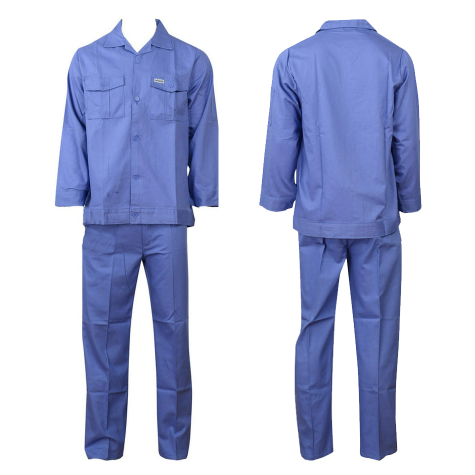 blue work suit B10-X