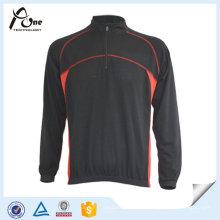 Простой молодых мужчин длинный рукав Велоспорт одежда