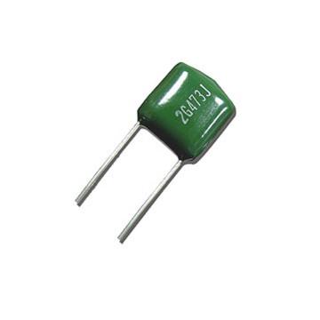 Topmay amarillo Color 104k100V Mylar condensador Cl11