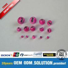 Wholesale verschiedene Farben Tungsten geschlitzte Perlen