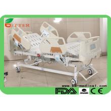 ICU Fünffunktion Krankenhausbett mit PP Siderail