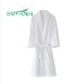 Roupa de hotel / Roupão de hotel 100% algodão branco, roupão de banho, roupão de banho