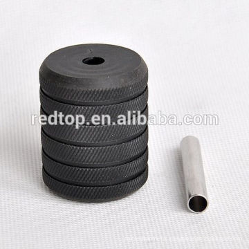 New Professional Black Aluminum Alloy Tatoo Grip 25mm,35mm,40mm