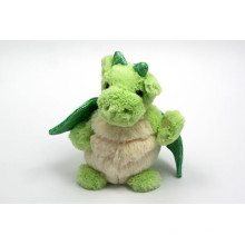 customized OEM design! Green color soft dragon plush toy for sale