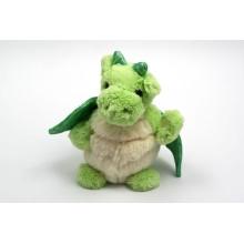 Подгонянный дизайн OEM! Игрушка плюша зеленого цвета мягкая дракон дракона для сбывания