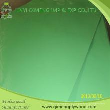4'x8' 1,6 мм 2,2 мм 2,6 мм зеленый полиэстер фанеры для рынка Индонезии