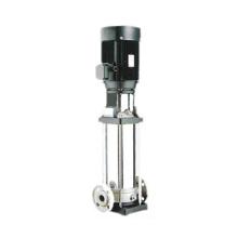 Pompe à eau centrifuge multicellulaire verticale en acier inoxydable haute efficacité