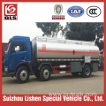 3 Axle 21000L Stainless Steel Fuel Transport Truck