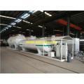 25000 Litres 10ton Mobile LPG Skid Plants
