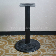 Black Metal Circular Industrial Table Legs for Restaurant (SP-MTL174)