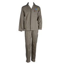 OEM for Cotton Work Suit Khaki Labour Safety Work Suit supply to Wallis And Futuna Islands Suppliers