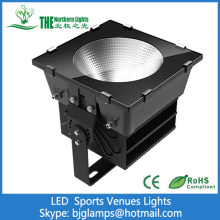 500W LED Lights Replacing 1000W HID in Sports Venues
