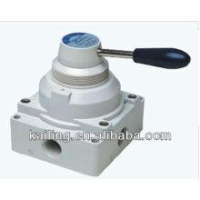 Hand switching valve