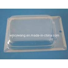 Embalaje blister plegado transparente