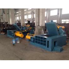 Máquina enfardadeira de reciclagem de ferro e alumínio para sucata