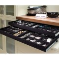 Drawer jewelry tray for dressing