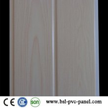 Weißes Holz Farbe Laminated Groove 20cm PVC Panel