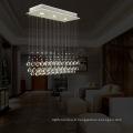 Éclairage décoratif de la lampe accrochante de la lampe LED de lustre de 3 lumières de mini lumières