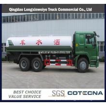 Sinotruk 6X4 HOWO 10-25m3 Water Tanker Truck