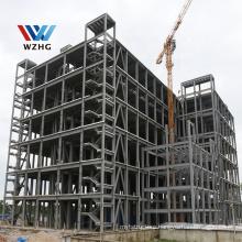 light steel structure prefabricated supermarket car accessories Prefab car shop steel structure high-rise