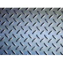 Placa quadriculada de aço inoxidável 316