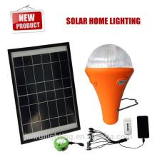 Aufladen der LED-Lampe Licht mit Solar-Panel, leichte tragbare Licht, Notfall (JR-SL988)
