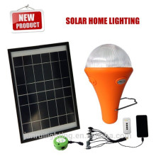 Recarga luz de bulbo del LED con Panel Solar, lámpara portátil, emergencia luz (JR-SL988)