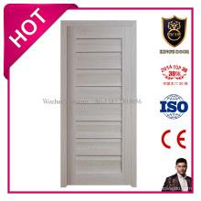 Porte en bois assemblée par MDF d'intérieur combinent la porte de connexion d'hôtel de porte