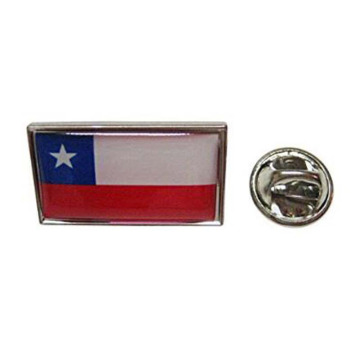 Chile Nationalflagge Kleine Metall Anstecknadeln