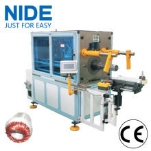 Single phase motor automatic coil inserting machine