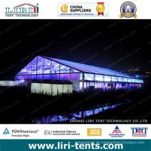 Hochzeitszelte mit klarem Dach für Veranstaltungen