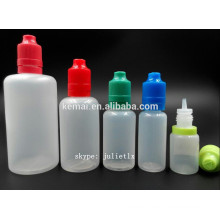 PE e-jugo botella de la fábrica
