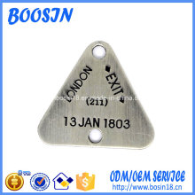 Factory Custom Engraved Metal Tag for Jewelry Making