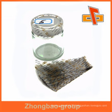 China manfacturer PVC plastic bottle cap seal shrink sleeve with perforaion