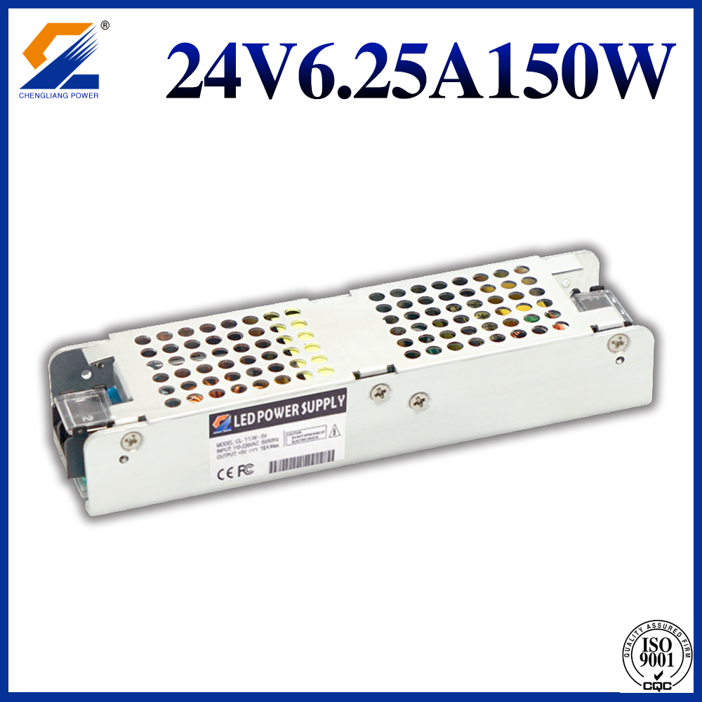 AC DC LED Power Supply 24V 150W for LED 5050