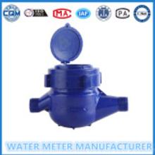 ABS प्लास्टिक यांत्रिक पानी मीटर मल्टी जेट सूखी डायल ठंड मीटर की