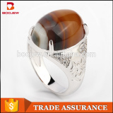 Wholesale Gemstone Jewelry 925 Silver Antique Arab Men Ring