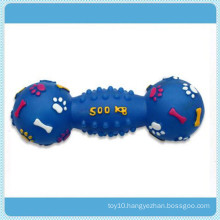 Pet Dog Footprint Dumbbell Toy Products