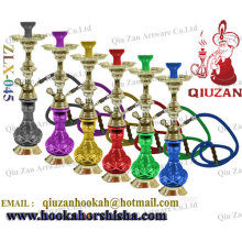 Beautiful Printed Snow Bottle Medium Zinc-alloy Hookah