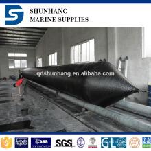 high pressure floating pneumatic culvert rubber balloon
