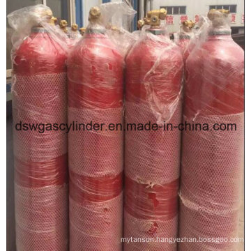 99.999% Oxygen Gas Filled in 40L Cylinder with Qf-2 Valve for Sale