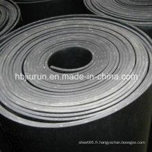 Feuille en caoutchouc de Viton résistante d'acide et d'alcali / feuille en caoutchouc de FKM / feuille en caoutchouc de fluorure
